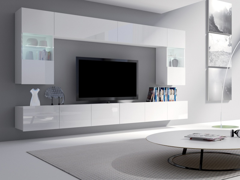 Obývací stěna Calabrini 1 - Nebe nábytek